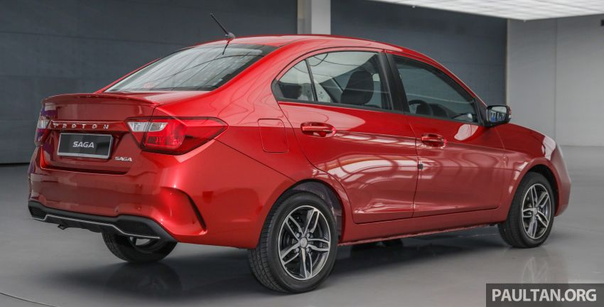 2019 Proton Saga facelift launched – Hyundai 4AT replaces CVT, lowered prices start from RM32,800 Image #997915