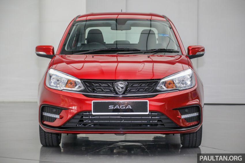 Proton Saga 2019 dilancarkan di Malaysia – tiga varian, transmisi 4AT Hyundai dan harga bermula RM32,800 Image #998140