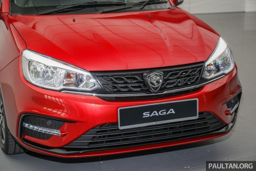 Proton Saga 2019 dilancarkan di Malaysia – tiga varian, transmisi 4AT Hyundai dan harga bermula RM32,800 Image #998143