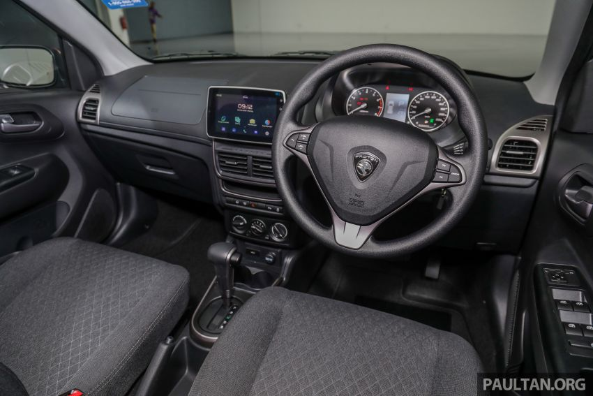 Proton Saga 2019 dilancarkan di Malaysia – tiga varian, transmisi 4AT Hyundai dan harga bermula RM32,800 Image #998197