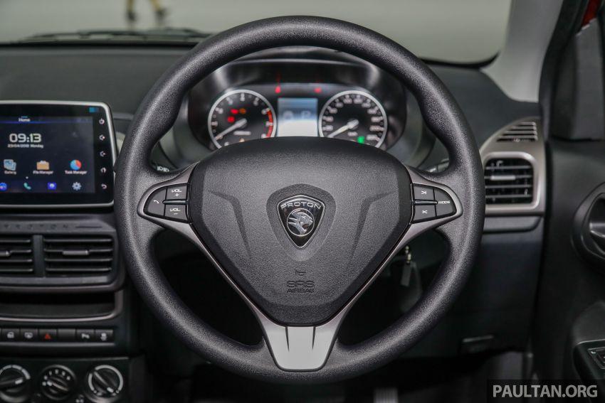 Proton Saga 2019 dilancarkan di Malaysia – tiga varian, transmisi 4AT Hyundai dan harga bermula RM32,800 Image #998175