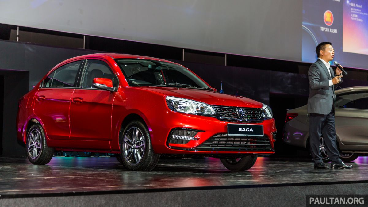 2019 Proton Saga facelift launched - Hyundai 4AT replaces CVT