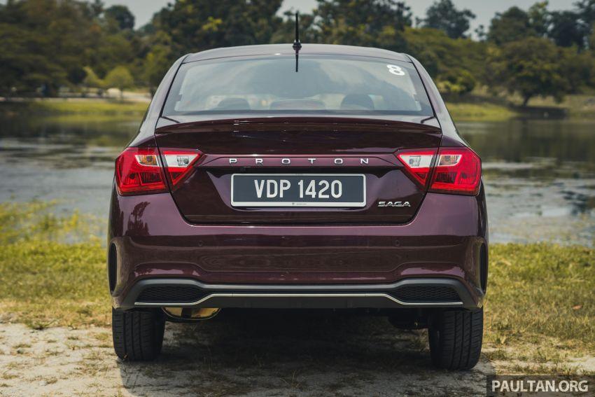 DRIVEN: 2019 Proton Saga facelift – 4AT's where it's at Image #1001718