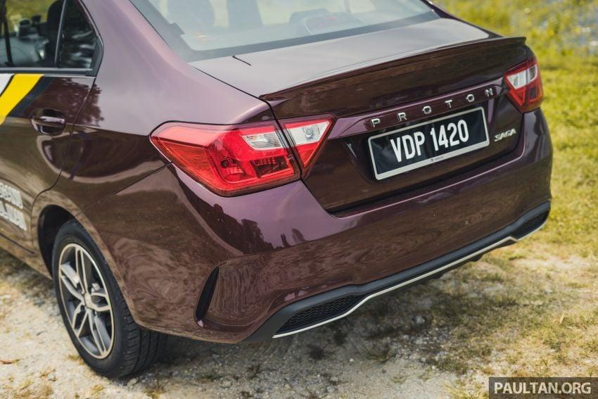 DRIVEN: 2019 Proton Saga facelift – 4AT's where it's at Image #1001731
