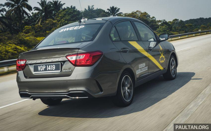 DRIVEN: 2019 Proton Saga facelift – 4AT's where it's at Image #1001715
