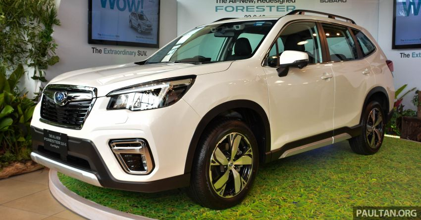 2019 Subaru Forester launched in Malaysia – from RM140k; three 2.0L variants; top spec gets EyeSight Image #1005236