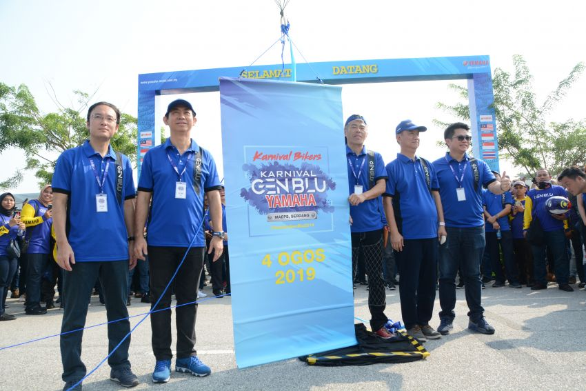 2019 Yamaha Y15ZR and NVX155 Doxou launched at Yamaha Gen Blu Carnival – price from RM8,868 Image #997204