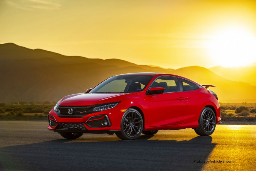 2020 Honda Civic Si Coupe and Sedan debut in the US Image #1006440