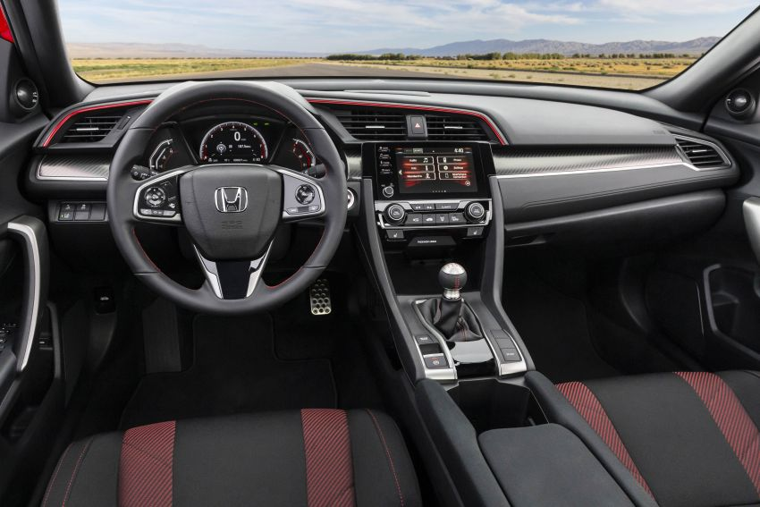 2020 Honda Civic Si Coupe and Sedan debut in the US Image #1006452