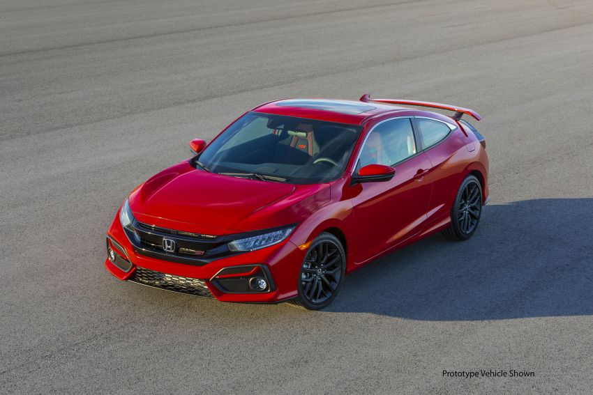 2020 Honda Civic Si Coupe and Sedan debut in the US Image #1006441