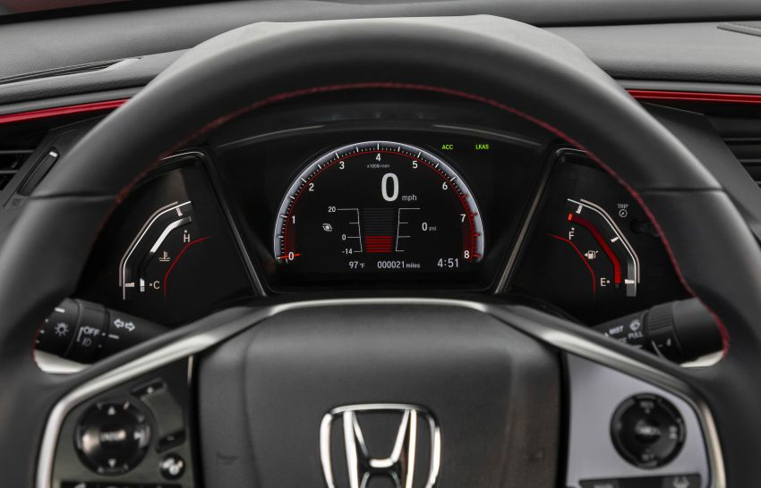 2020 Honda Civic Si Coupe and Sedan debut in the US Image #1006460