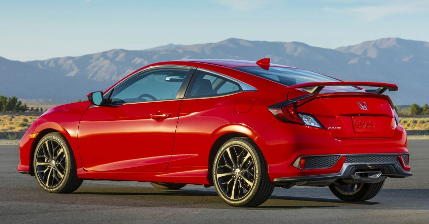 2020 Honda Civic Si Coupe and Sedan debut in the US Image #1006442