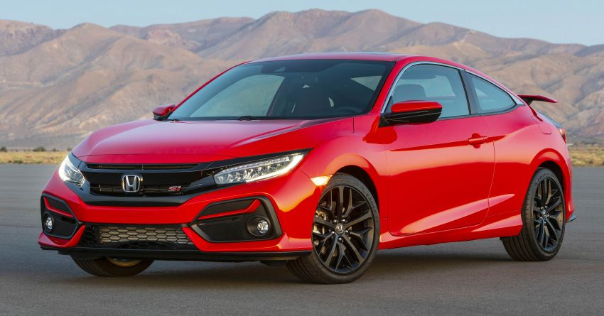 2020 Honda Civic Si Coupe and Sedan debut in the US Image #1006445