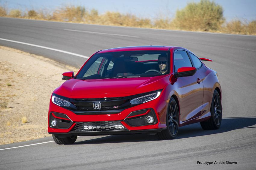 2020 Honda Civic Si Coupe and Sedan debut in the US Image #1006447