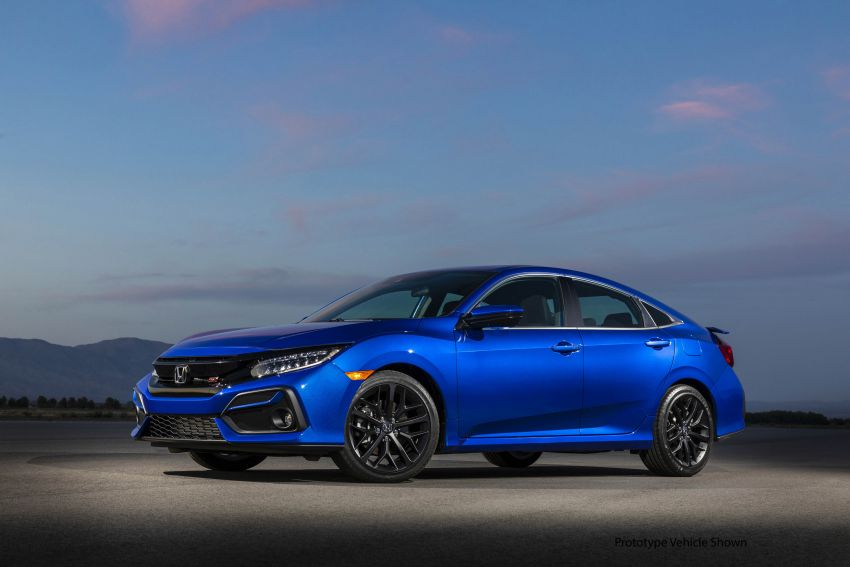 2020 Honda Civic Si Coupe and Sedan debut in the US Image #1006464