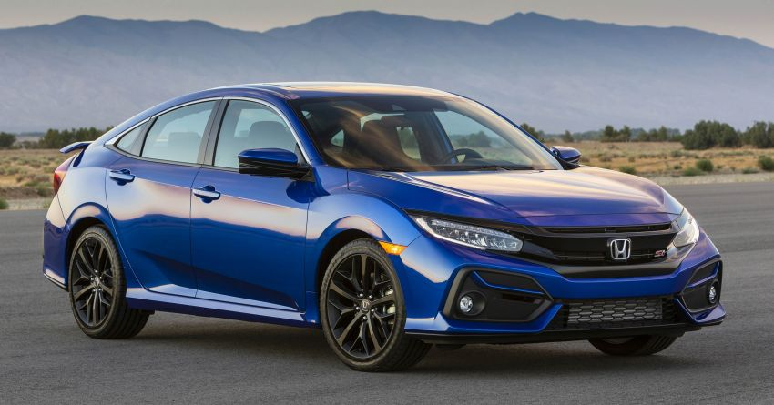 2020 Honda Civic Si Coupe and Sedan debut in the US Image #1006465