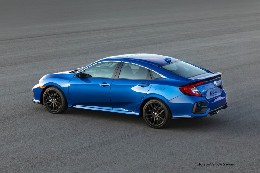 2020 Honda Civic Si Coupe and Sedan debut in the US Image #1006466