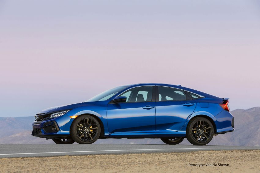 2020 Honda Civic Si Coupe and Sedan debut in the US Image #1006467