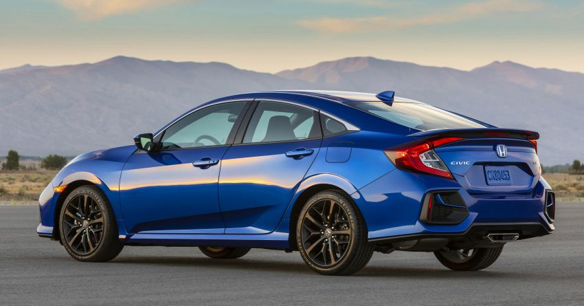 2020 Honda Civic Si Coupe and Sedan debut in the US Image #1006468