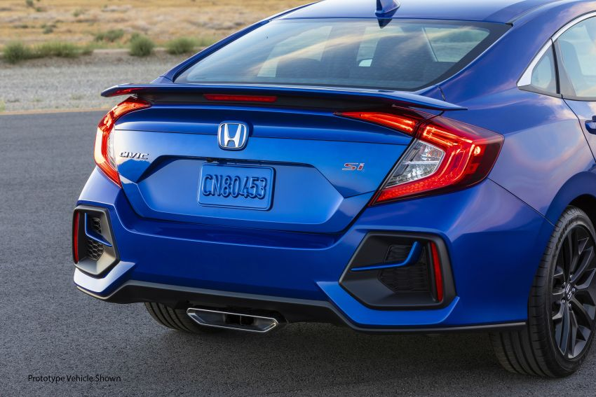 2020 Honda Civic Si Coupe and Sedan debut in the US Image #1006472