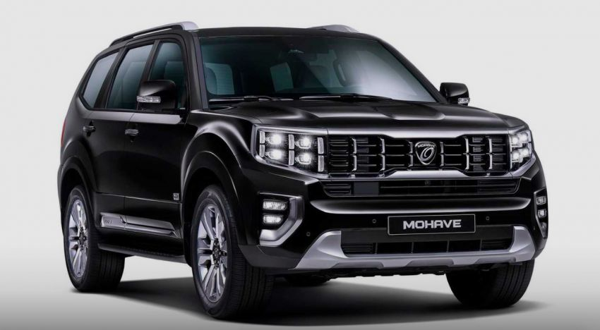 2020 Kia Mohave – first images of large SUV released Image #1001692