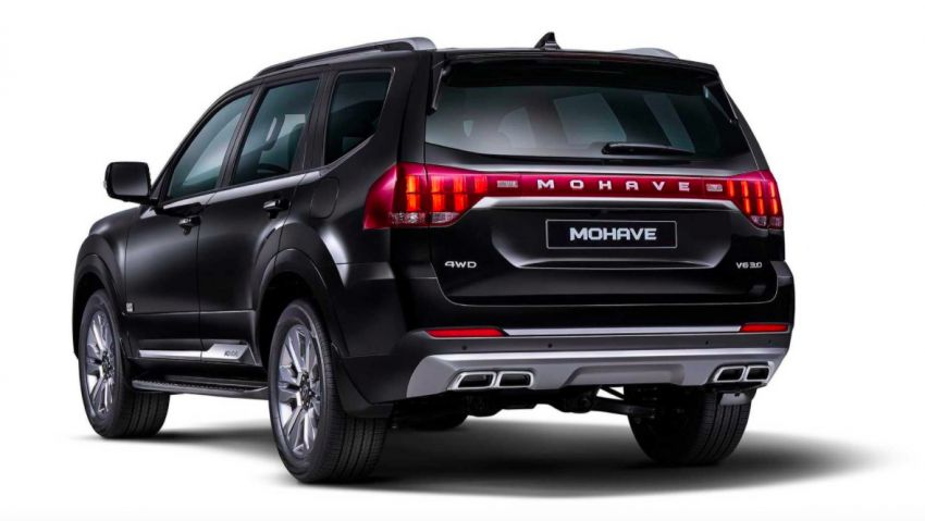2020 Kia Mohave – first images of large SUV released Image #1001691