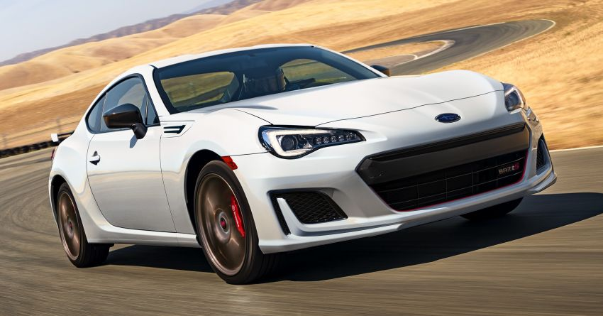 2020 Subaru BRZ tS returns to the US – only 300 units Image #1003147