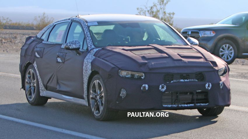 SPYSHOTS: 2021 Kia Optima borrows Stinger cues Image #1004893