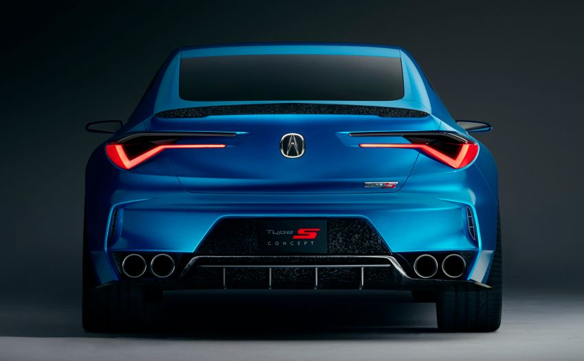 Acura Type S kembali – TLX Type S Concept didedah Image #1000797