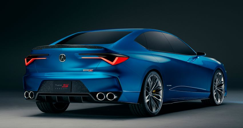 Acura Type S kembali – TLX Type S Concept didedah Image #1000802