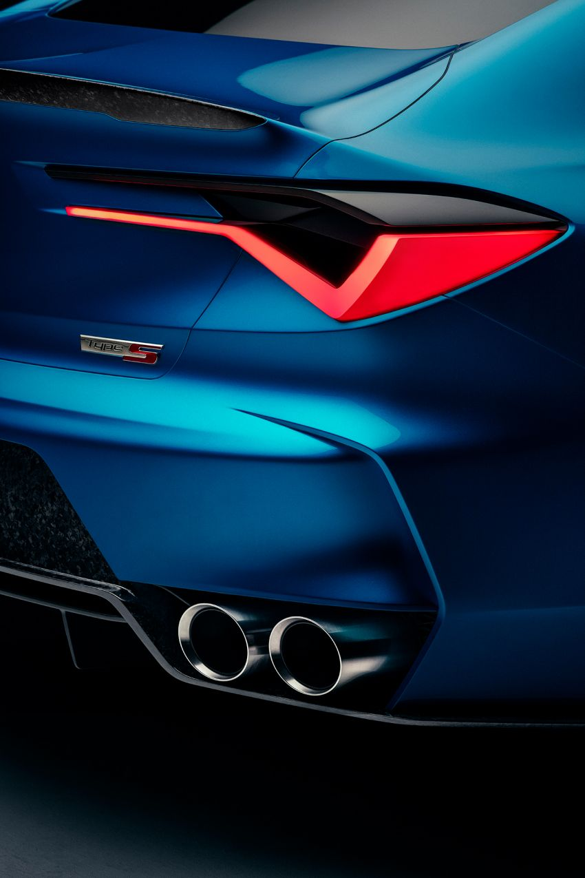 Acura Type S kembali – TLX Type S Concept didedah Image #1000787