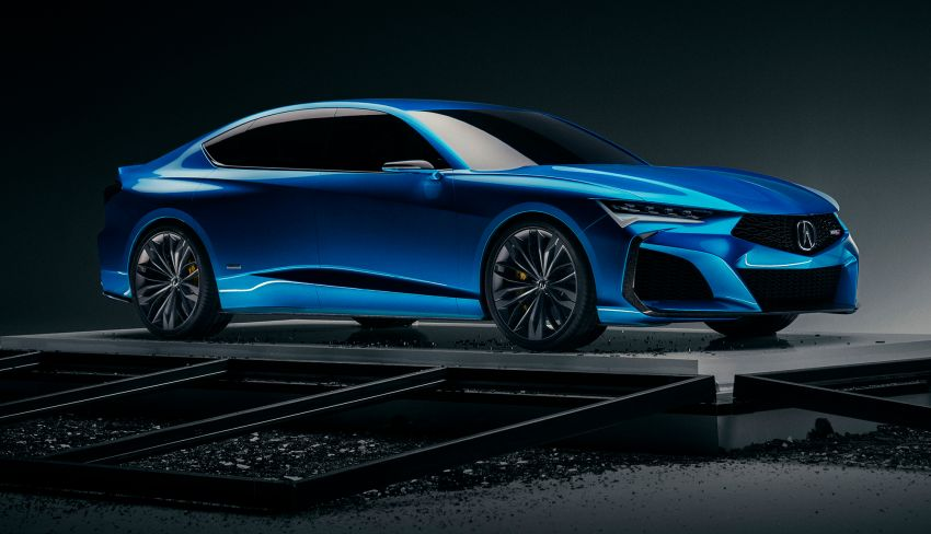 Acura Type S kembali – TLX Type S Concept didedah Image #1000789