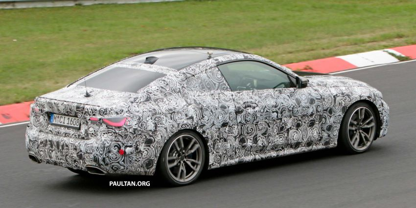SPYSHOTS: G23 BMW 4 Series seen at 'Ring – M440i? Image #1001178
