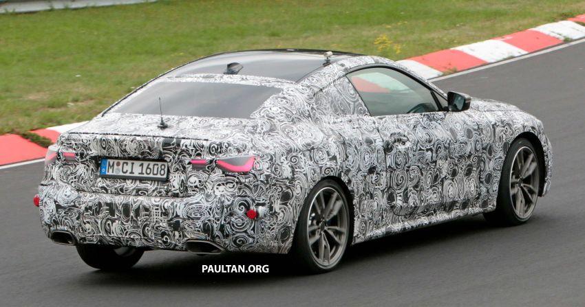 SPYSHOTS: G23 BMW 4 Series seen at 'Ring – M440i? Image #1001179