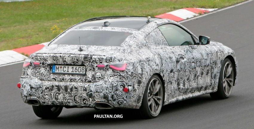 SPYSHOTS: G23 BMW 4 Series seen at 'Ring – M440i? Image #1001180
