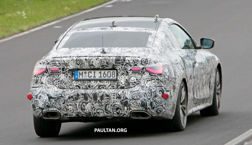 SPYSHOTS: G23 BMW 4 Series seen at 'Ring – M440i? Image #1001182