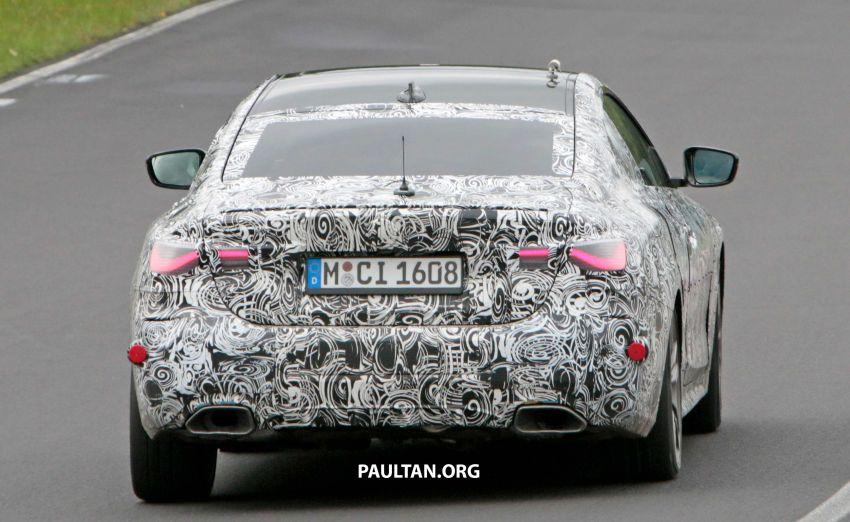 SPYSHOTS: G23 BMW 4 Series seen at 'Ring – M440i? Image #1001183