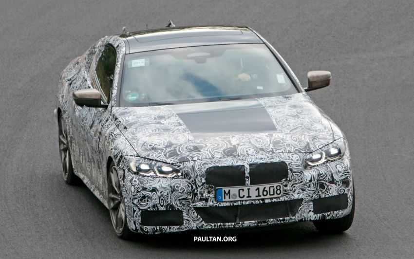 SPYSHOTS: G22 BMW 4 Series seen at 'Ring – M440i? Image #1001165