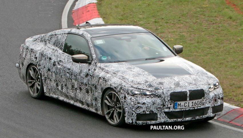 SPYSHOTS: G22 BMW 4 Series seen at 'Ring – M440i? Image #1001167