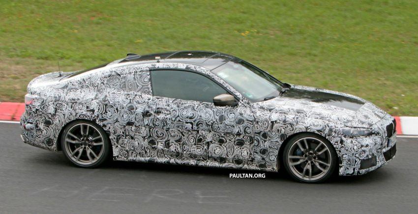 SPYSHOTS: G23 BMW 4 Series seen at 'Ring – M440i? Image #1001171