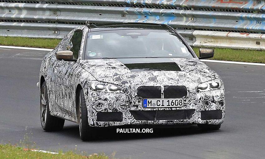 SPYSHOTS: G23 BMW 4 Series seen at 'Ring – M440i? Image #1001184