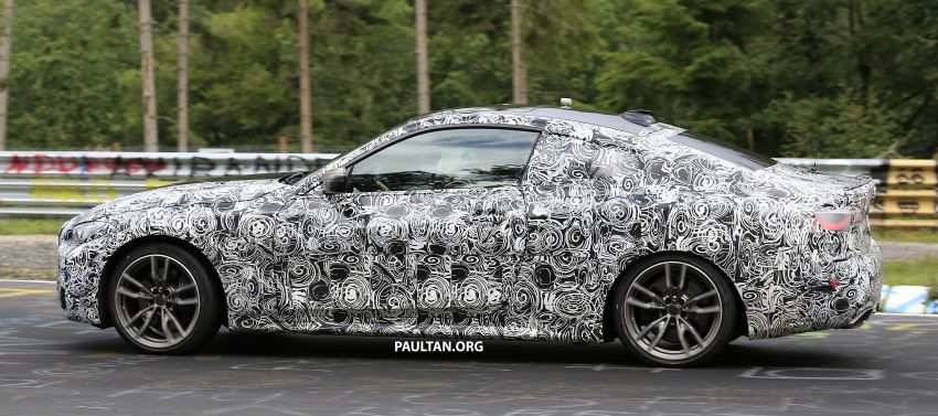 SPYSHOTS: G23 BMW 4 Series seen at 'Ring – M440i? Image #1001190
