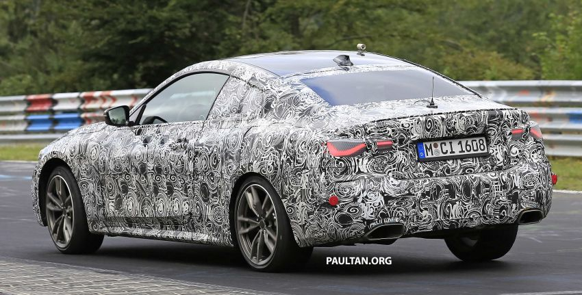SPYSHOTS: G23 BMW 4 Series seen at 'Ring – M440i? Image #1001192