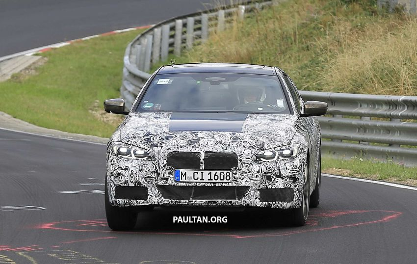 SPYSHOTS: G23 BMW 4 Series seen at 'Ring – M440i? Image #1001198