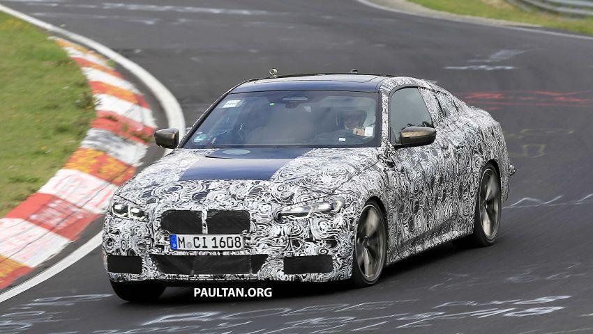 SPYSHOTS: G23 BMW 4 Series seen at 'Ring – M440i? Image #1001199