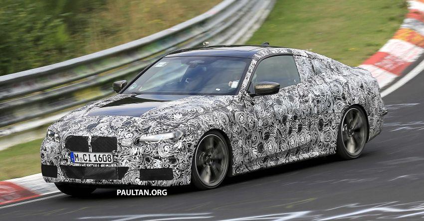 SPYSHOTS: G23 BMW 4 Series seen at 'Ring – M440i? Image #1001200
