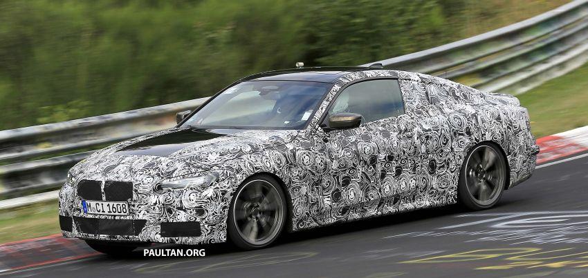 SPYSHOTS: G23 BMW 4 Series seen at 'Ring – M440i? Image #1001201
