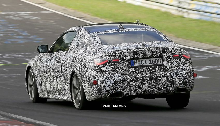 SPYSHOTS: G23 BMW 4 Series seen at 'Ring – M440i? Image #1001203