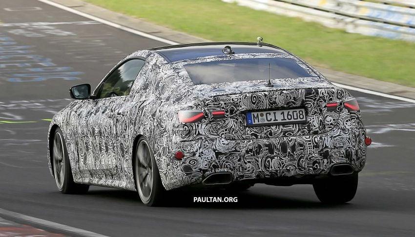 SPYSHOTS: G23 BMW 4 Series seen at 'Ring – M440i? Image #1001203