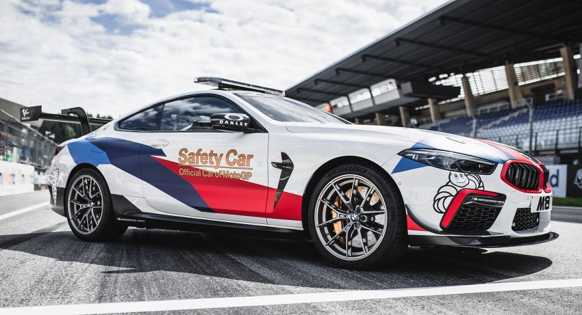 BMW M8 Competition is the new MotoGP safety car Image #1001011